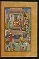 Zahir al-Din Muhammad Babur - Babur Being Entertained in Ghazni by Jahangir Mirza - Walters W59612B - Full Page.jpg