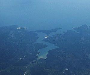 Raša (river) - Raška Inlet
