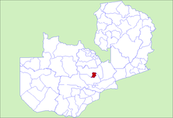 Zambia Kabwe District.png