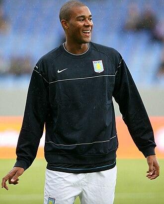 Zat Knight - Knight training with Aston Villa in 2008