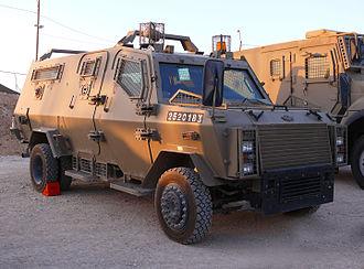 Military Police (Brazil) - Image: Zeev jeep 002