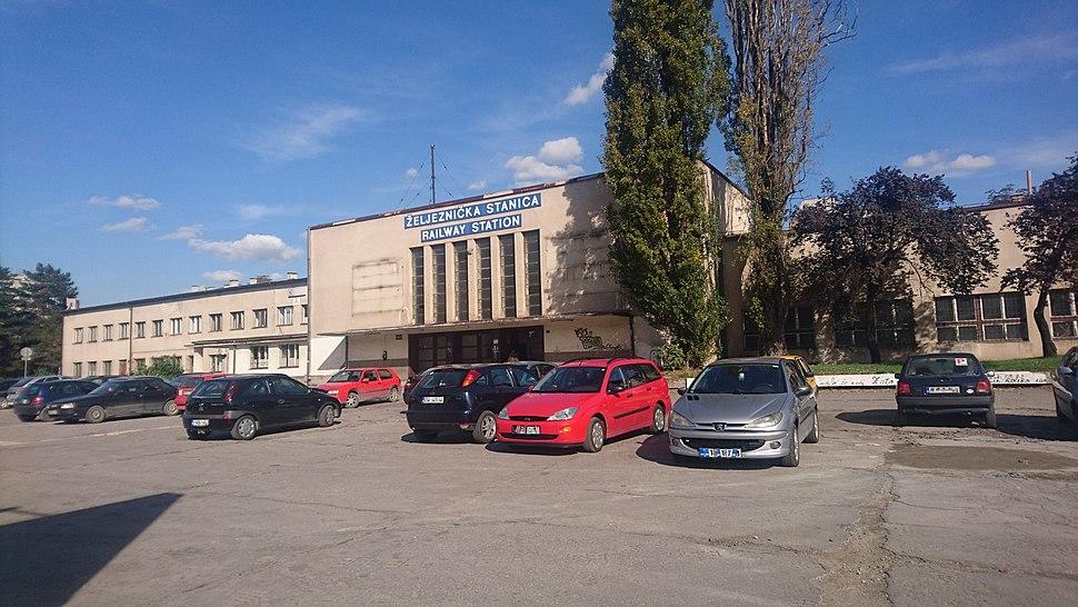 Zeljeznicka stanica Train station Zenica