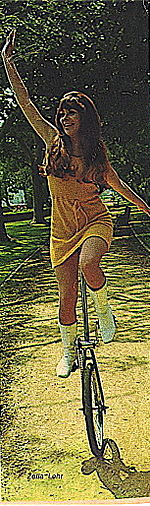 Zella Lehr, Unicycle Girl.jpg