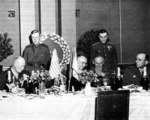 Jean de Lattre de Tassigny - Image: Zhukov Eisenhower Montgomery de Lattre