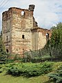 Ziemięcice, ruiny kościoła św. Jadwigi, widok od pd..JPG