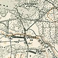 Zulnia, 1910—1916, map.jpg