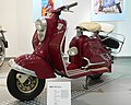 NSU developed the Prima from the Lambretta it had previously built under licence