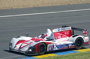 Greaves Motorsport - Ricardo González at the 2012 24 Hours of Le Mans in Zytek Z11SN