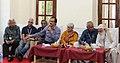 """Chai n Chat"" Session- meet & discuss with Adoor Gopalakrishnan, Sumitra Bhave, Shaji Karun, Sachin Chatte, Suresh Jindal Pradeep Biswas and VS Kundu, at the 43rd International Film Festival of India (IFFI-2012), in Panaji.jpg"