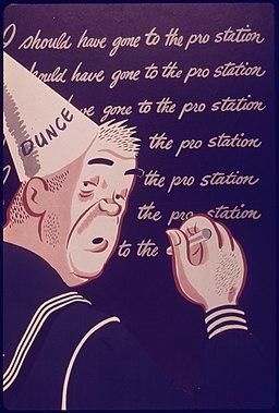 """I should have gone to the pro station"" - NARA - 514564"