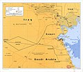 (Map showing neutral zones between Saudi Arabia and Iraq and between Saudi Arabia and Kuwait). LOC 91682276.jpg