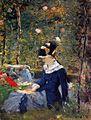 Édouard Manet - Jeune fille au seuil du jardin de Bellevue.jpg