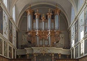Jean-Esprit Isnard - Image: Église Saint Pierre des Chartreux de Toulouse Orgue de tribune