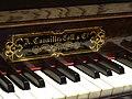 Église du Gésu, clavier de l'orgue.JPG