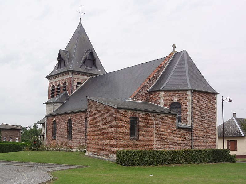 Étaves-et-Bocquiaux (Aisne) église