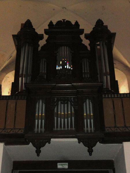 Étréaupont (Aisne) Église Saint-Martin, orgues