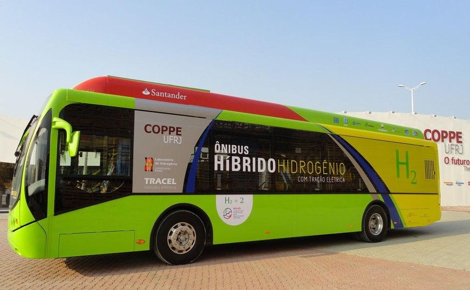 Ônibus Híbrido Hidrogênio COPPE UFRJ