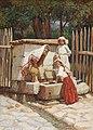 Špiro Bocarić - Am Brunnen.jpg
