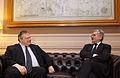 Συνάντηση Αντιπροέδρου Κυβέρνησης και ΥΠΕΞ Ευ. Βενιζέλου με πρώην Π-Θ της Ιταλίας Massimo D'Alema (12362344233).jpg
