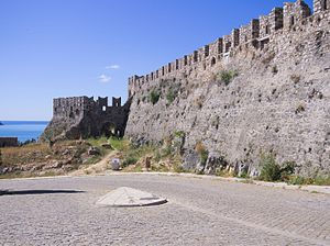 Acronauplia - Part of the fortifications in Acronauplia