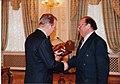 В.З. Брагилевский и второй президент Украины Л.Д.Кучма.jpg