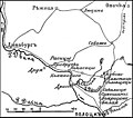 Карта к статье «Клястицы» № 1. Военная энциклопедия Сытина (Санкт-Петербург, 1911-1915).jpg