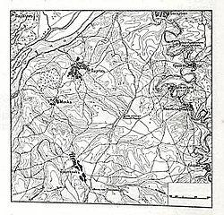 Карта к статье «Мечка» № 1. Военная энциклопедия Сытина (Санкт-Петербург, 1911-1915).jpg