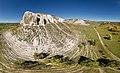 Крейдянi Білокузьминівські скелі, панорама з повiтря.jpg