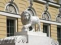 Львы у входа в Русский музей. - panoramio.jpg
