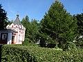 Монастырский двор Часовня Новоспасский монастырь Москва.JPG