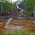 Самоизлив шахтных вод шахты Калинина, Губаха - panoramio (1).jpg