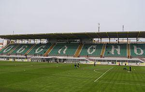 Obolon Arena - Image: Стадіон Оболонь