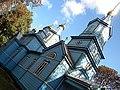 Троїцька церква. Побудована 1886 року. Суцільно дерев'яна. смт Олика. серпень 2010 року.jpg