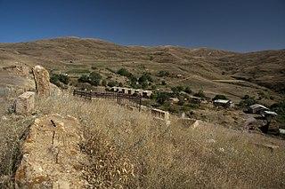 Gnishik Place in Vayots Dzor, Armenia