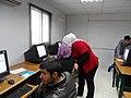 ورشة تدريبية عن الويكيبيديا في مدرسة البيان في الاردن13.JPG