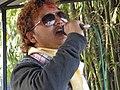 गायक प्रकाश तिमिल्सिना गीत प्रस्तुत गर्दै.JPG