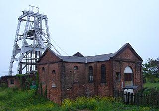 Miike coal mine