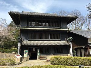 Machiya - The Tōmatsu House from Funairi-chō, Nagoya is an example of a large machiya