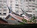 林家三落大厝燕尾脊飾 The Swallow-tail-shaped Decoration on the Roof Ridge of the Lin Family Mansion - panoramio.jpg