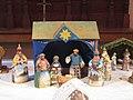 -2019-12-14 Nativity scene, Christmas tree festival 2019, Church of St John the Baptist, Trimingham (3).JPG