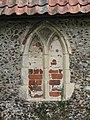 -2020-08-23 Bricked up Window, Saint Peter and Saint Paul Church, Sustead, Norfolk.JPG
