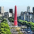 -obelisk of -BuenosAires wrap it up for AIDS Day -obelisco de Buenos Aires cubierto para el Dia del SIDA. Pix by -tinchoinbuenosaires (11160845186).jpg