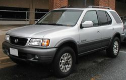 2000-2002 Honda Passport