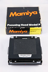 0183 Mamiya Universal Super 23 Focussing Hood Model P (5135811695).jpg