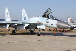 01 Black Sukhoi Su-35S Russian Air Force (8019182504).jpg