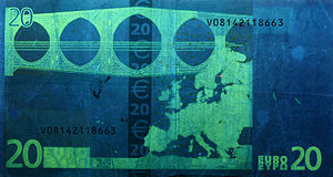 20 euro note - Reverse