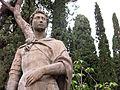 038 Sant Jordi de Donatello, al parc de Sant Jordi (Terrassa).JPG
