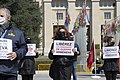03 Protesters in Geneva demand the release of Armenian POWs, 15 April 2021.jpg
