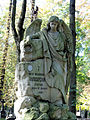 041012 Sculpture and architectural detail at the Orthodox cemetery in Wola - 04.jpg