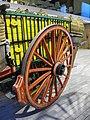079 Fabra i Coats, Can Fontanet, carruatges dels Tres Tombs, carro amb portadores de raïm.jpg